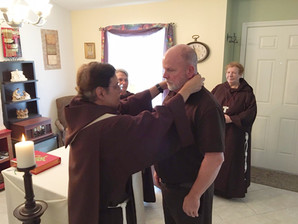 Introducing our newest Postulant Brother Will Bracey.