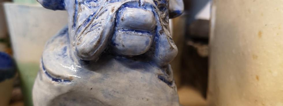 Glazed hollow sculpture (4)
