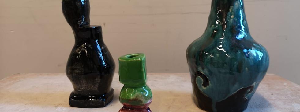 Glazed hollow sculpture (5)