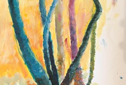 Schilderen - Myrte