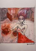 sprookje gouache - Aliza