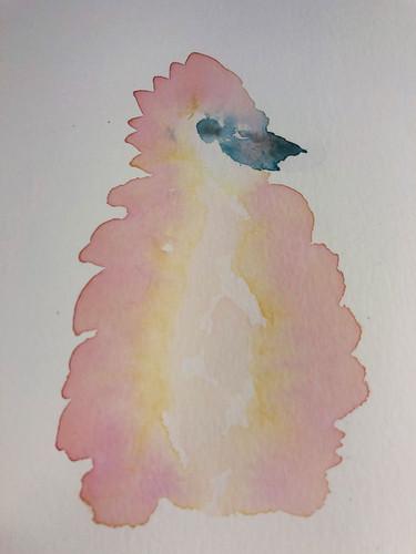 2 Birds in watercolour