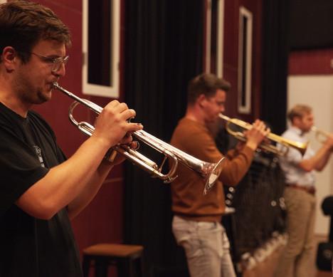 8 Amsterdam Studenten Big Band © Juliett