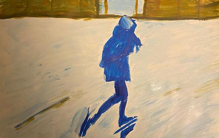 Schilderen - Sneeuw Eline