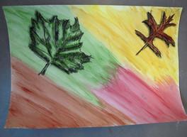 4 Herfstblad