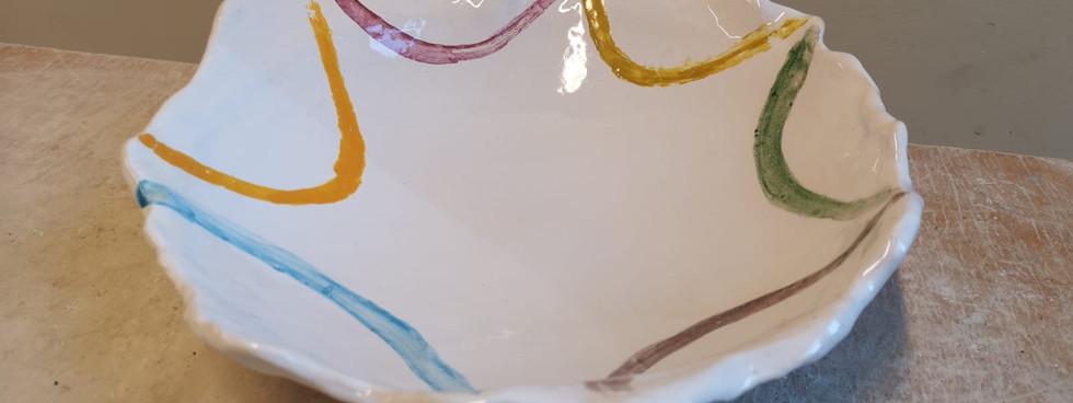 Glazed plate (2)