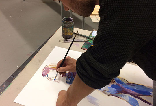 Model-painting-with-guoache-and-pastel(4
