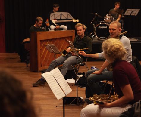 5 Amsterdam Studenten Big Band © Juliett