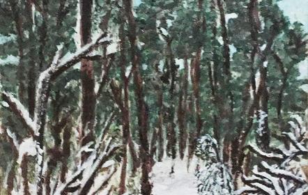 Schilderen - Sneeuw Tessa