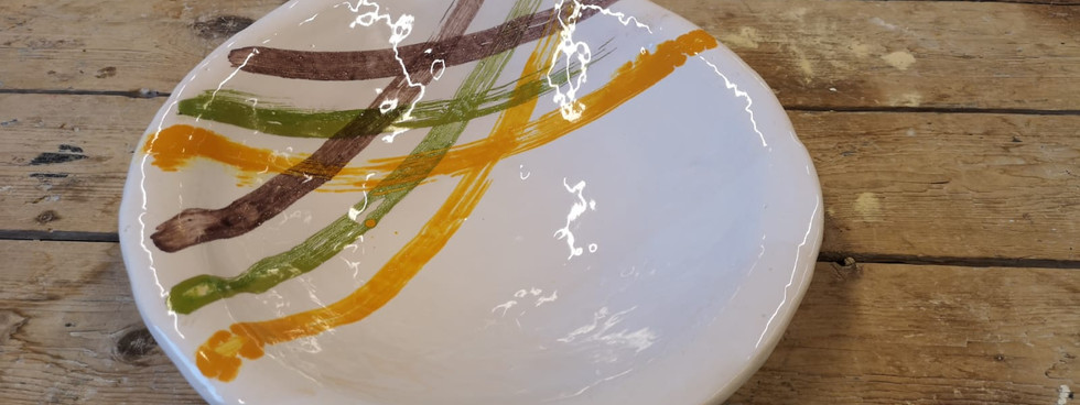 Glazed plate (1)