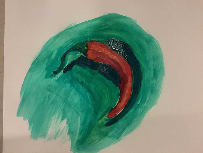 Practice with complementary colors and s
