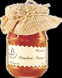 紅島BDL天然純手工法式果醬 - #27葡萄柚金桔醬 Grapefruit – Kumquat