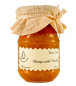 紅島BDL天然純手工法式果醬 - #02芒果香草醬 Mango With Vanilla