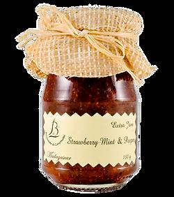 紅島BDL天然純手工法式果醬 - #06薄荷草莓醬 Strawberry with Mint and Pepper