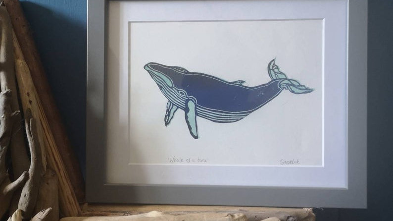 Whale of a time!
