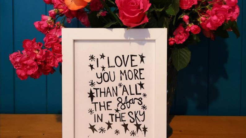 Love you more than all the stars...