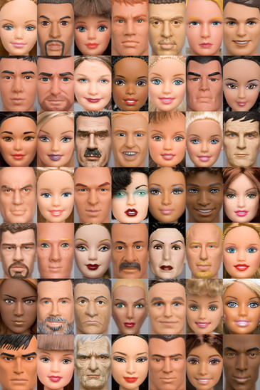 America: US census data based on age gender and race