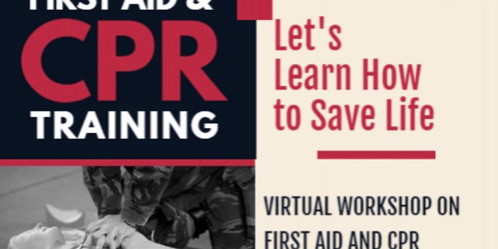 Virtual Workshop - First AID & CPR Training