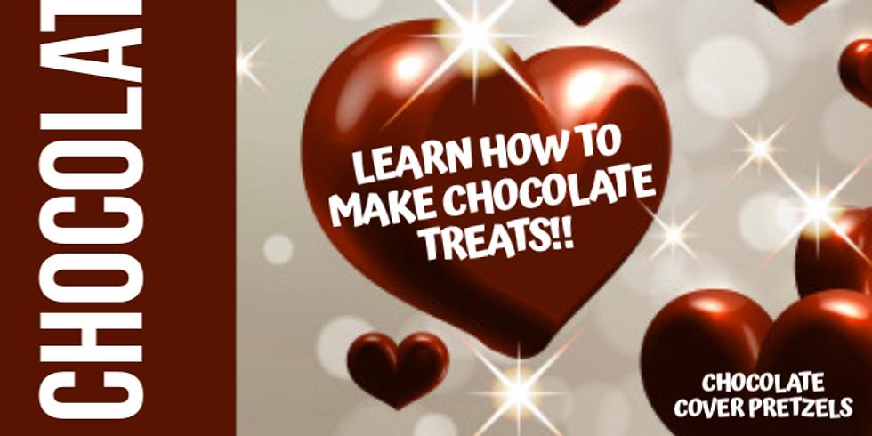 Virtual Workshop - Chocolate Day!  Learn How to Make Chocolate Treats