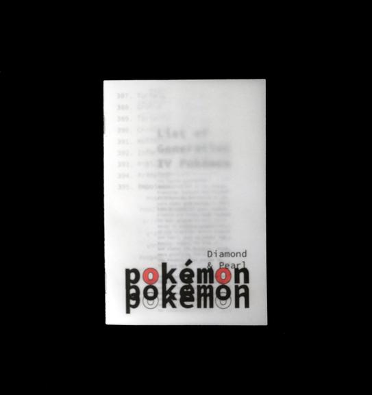 pokemon booklet
