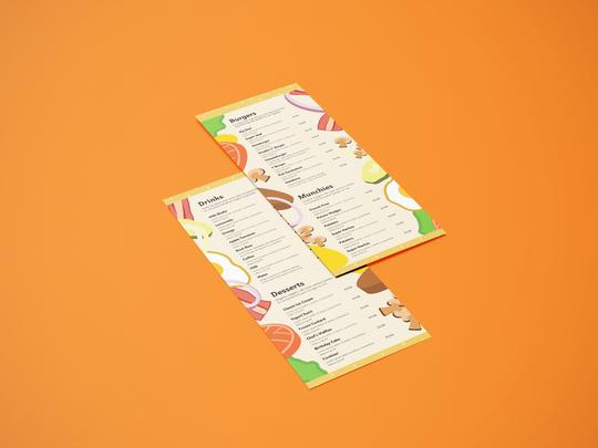burger chef menu