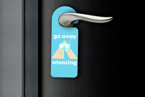 door tag of beach locations