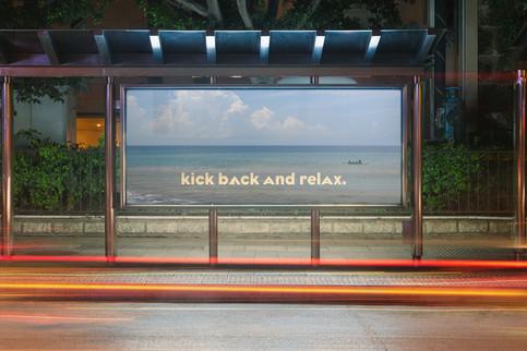 advertisement of beach locations