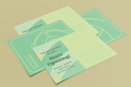 opening post cards