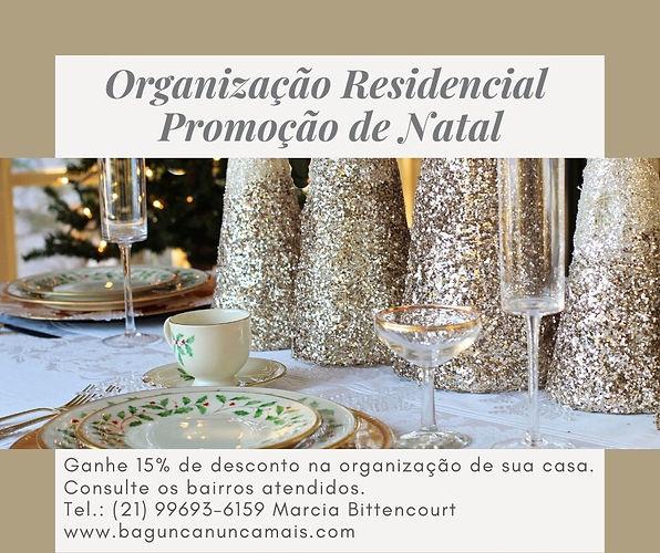 Organização Residencial - Promoção de Na