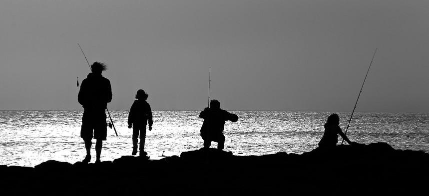 El Cotillo, Siluetas pescadores 1.jpg