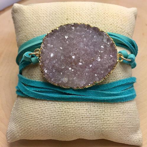 Mercer Turquoise Wrap Bracelet