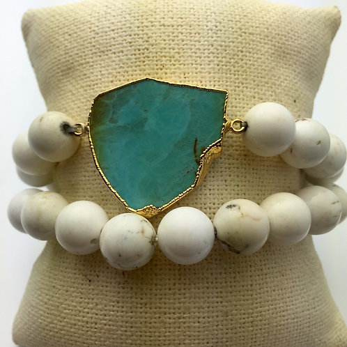 Santa Fe White Bracelet