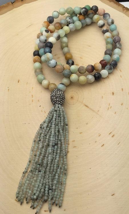 Ibiza Green Necklace