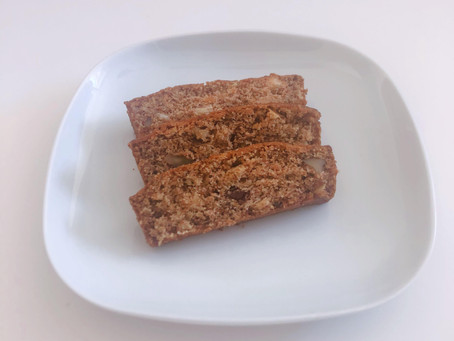 Easiest Vegan Banana and Walnut Bread Ever...