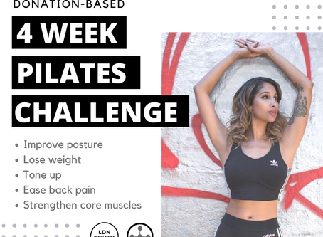 4 Week Pilates Challenge: Collaboration with Omega Hub!