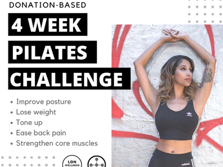 4 Week Pilates Challenge: Collaboration with Omega Hub!