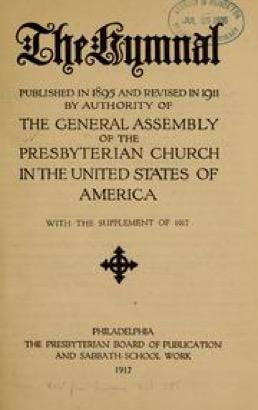 1917 hymnals