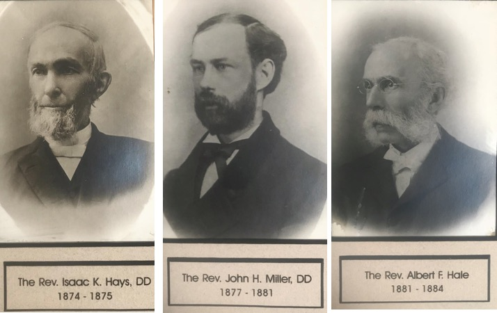 Rev. Hays, Miller and Hale