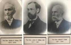 Rev. Hays, Miller and Hale