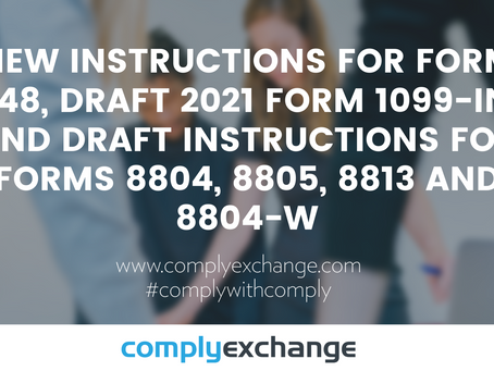 New Instruction Updates From The IRS