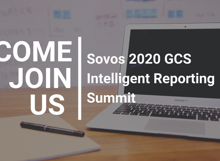 Join us at the Sovos 2020 GCS Intelligent Reporting Summit!
