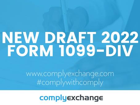 New DRAFT 2022 Form 1099-DIV