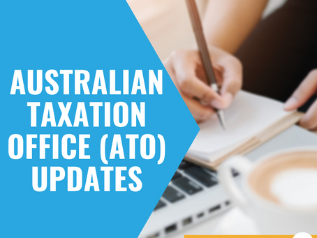 Australian Taxation Office (ATO) updates