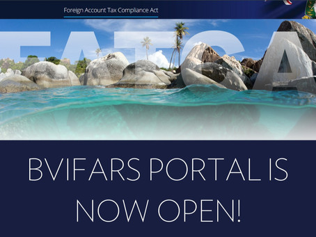 BVIFARS Portal Is Now Open!