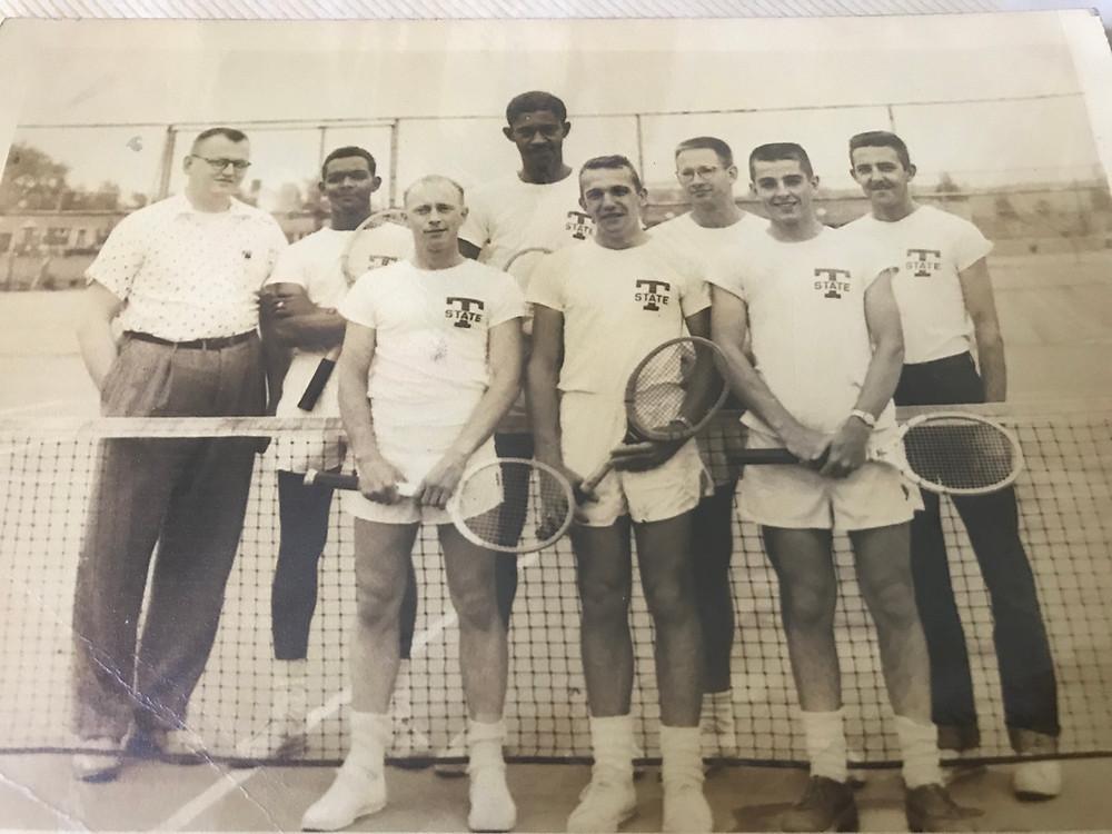 Albert Rose Tennis Player Tri-State University, Angola Indiana