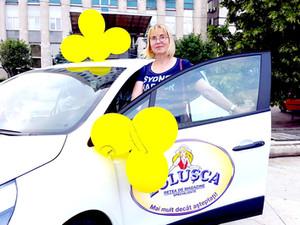 Людмила Чебан выиграла 48-й автомобиль от сети магазинов ZOLUȘCA на розыгрыше 31 мая 2019 года!