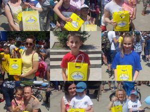 ZOLUȘCA помогла провести детский праздник на Рышкановке (09.06.2019)