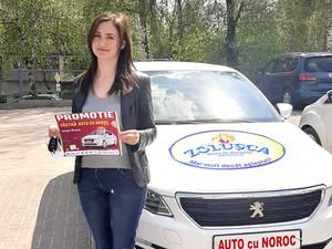 Наши победители получили свои призовые Автомобили от сети магазинов ZOLUȘCA!