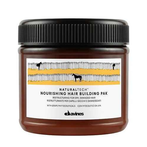 Nourishing Naturaltech Hair Building Pak Mask 250ml | Davines