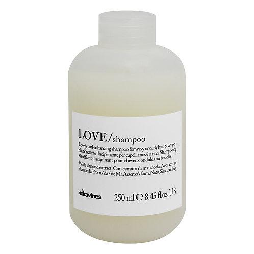 Love Curl Enhancing Shampoo 250ml | Davines